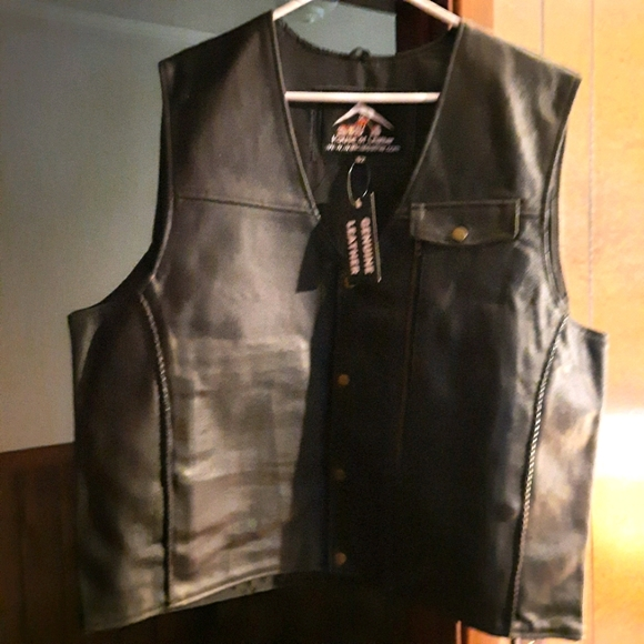 (Harley-Davidson) motorcycle vest